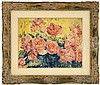 SIR JACOB EPSTEIN (American/English, 1880-1959) ROSES IN BLOOM., Jacob Epstein, $1,500