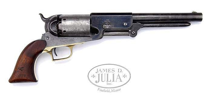 RARE AND HISTORIC COLT WHITNEYVILLE-WALKER PISTO