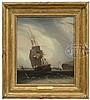 ROBERT SALMON (American/Scottish, 1775-ca. 1848) OUTWARD BOUND, LONG ISLAND HEAD, BOSTON HARBOR., Robert Salmon, $10,000