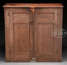 FINE HUDSON RIVER VALLEY PANTRY CUPBOARD.