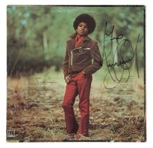 MICHAEL JACKSON SIGNED ALBUM COVER