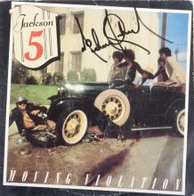 MICHAEL JACKSON SIGNED MOVING VIOLATION ALBUM