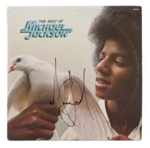 MICHAEL JACKSON SIGNED ALBUM