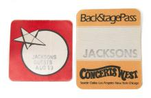 THE JACKSONS CONCERTS BACKSTAGE PASSES