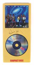 MICHAEL JACKSON SIGNED VICTORY COMPACT DISC