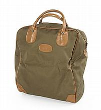 GRETA GARBO MONOGRAMMED TRAVEL TOTE