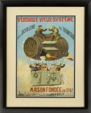 LATE 19TH CENTURY THEUNISSEN LIQUEUR POSTER