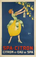 EARLY 20TH CENTURY POSTER FOR SPA-CITRON