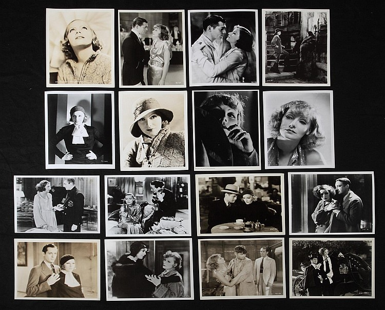 GRETA GARBO GROUP OF FILM STILLS