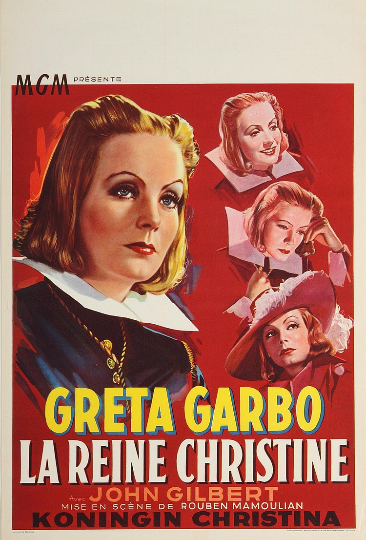 QUEEN CHRISTINA POSTERS