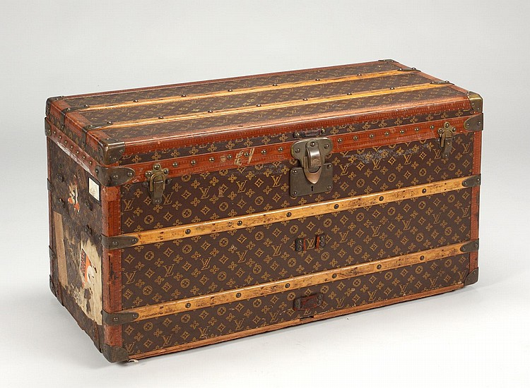 GRETA GARBO LOUIS VUITTON STEAMER TRUNK