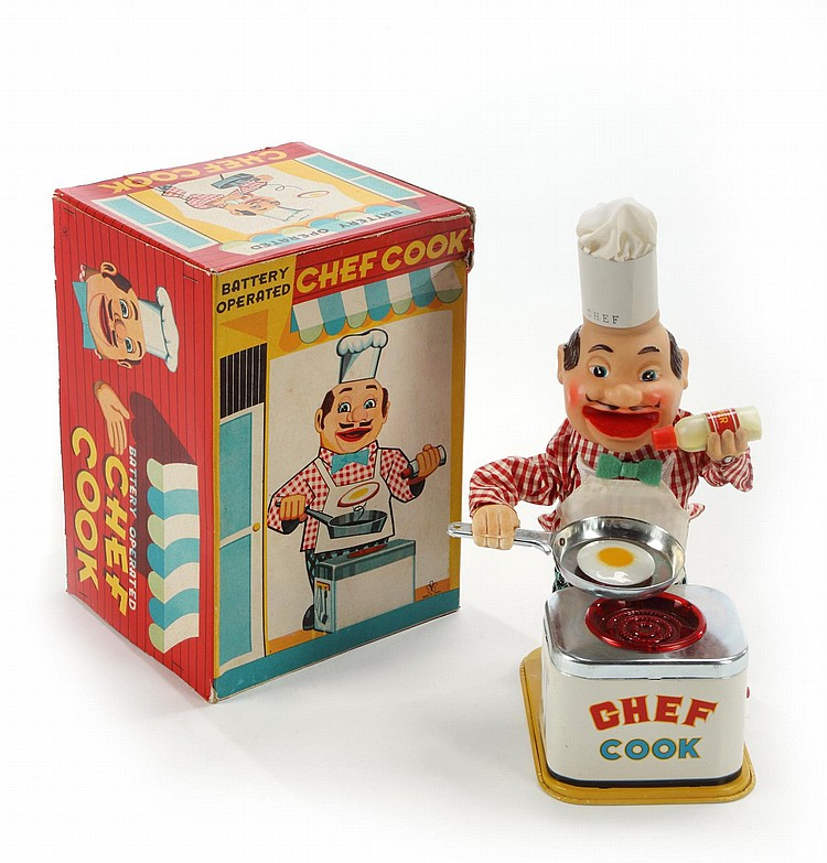 GRETA GARBO BATTERY OPERATED CHEF