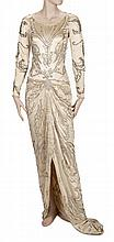 JEANETTE MacDONALD LOVE PARADE WEDDING GOWN