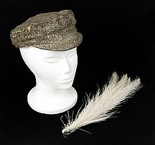 HARRIET HOCTOR THE GREAT ZIEGFELD RHINESTONE HAT