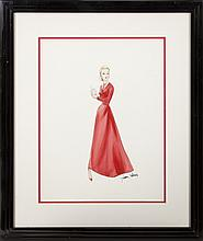 LANA TURNER MADAME X COSTUME SKETCH