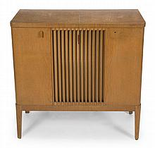 GRETA GARBO MID-CENTURY STEREO IN CABINET WITH RECORD PLAYER