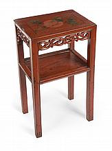 GRETA GARBO CHINESE STYLE END TABLE