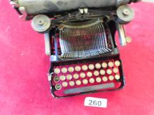 Vintage Corona Typewriter Model 5 or 6- Short Typewriter Company