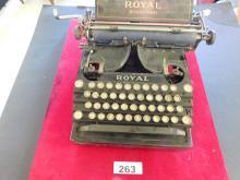 Royal Standard New York Model 1 1900s Vintage Typewriter