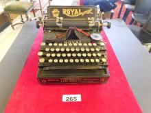 Royal Standard New York Model 5 Vintage Typewriter