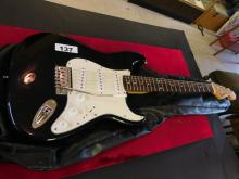 Fender Squire Strat Electric Guitar with bag