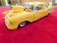 1957 Chevy Pro Street Hardtop Danbury Mint Diecast Car