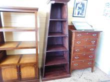 Black Angular bookshelf