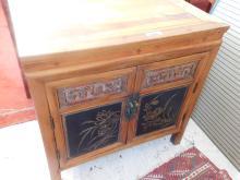 Vintage Oriental Embelished front cabinet