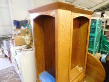 Bookshelf units (2 attachable)