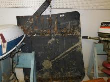 Antique Rudder