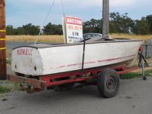 Chris Craft Crook Boat & trailer