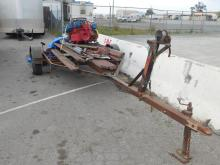 Boat motor, outdrive and trailer