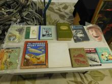 Misc. Antique books (30) total with Blue & Gold 1887 & 1915