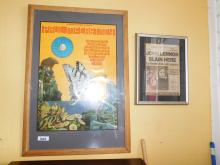 Paul McCartney Concert Poster Berkeley & John Lennon Article