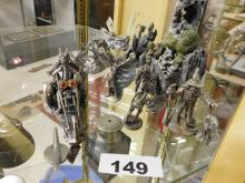 Lot of Pewter figurines (8) pcs