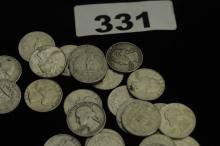 SILVER COINS Bag of 1960s quarters $20 face value