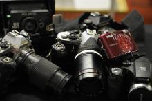 Misc camera lot