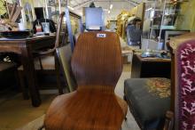 Danish Bentwood Modern Chair