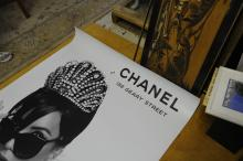 Chanel Store display poster 52 1/4