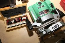 HITACHI ELECTRIC ROUTER & CRAFTSMAN BITS