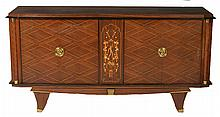 FRENCH JULES LELEU ATTRIBUTED SIDEBOARD C. 1940