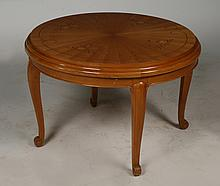 FRENCH JULES LELEU STYLE COFFEE TABLE