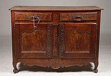 GOOD FRENCH 18TH CENT. BURL INLAID BUFFET
