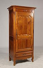19TH CENT. FRENCH SINGLE DOOR ARMOIRE