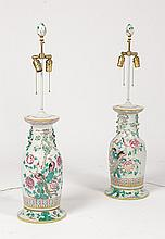 PR ASIAN TABLE LAMPS AVIARY DECORATION FINIALS