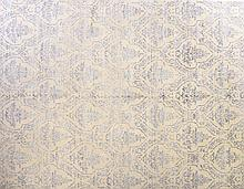 MODERN DESIGN WOOL AND SILK RUG 8