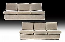 2 PART PACE ATTR. UPHOLSTERED SOFA LOOSE CUSHION