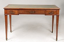 HEPPLEWHITE STYLE MAHOGANY WRITING DESK