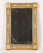 MID 19TH C. GILTWOOD MIRROR