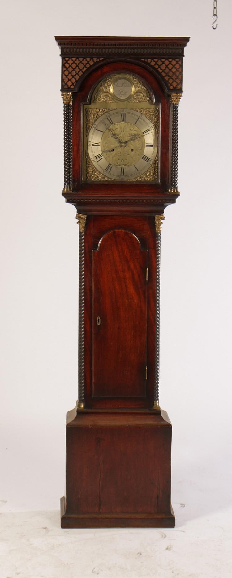 James gordon perth tall case clock circa 1880 Display home furniture auctions perth